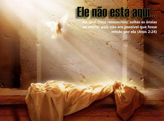 O que aconteceu a Jesus no intervalo entre sua morte e ressurreição?