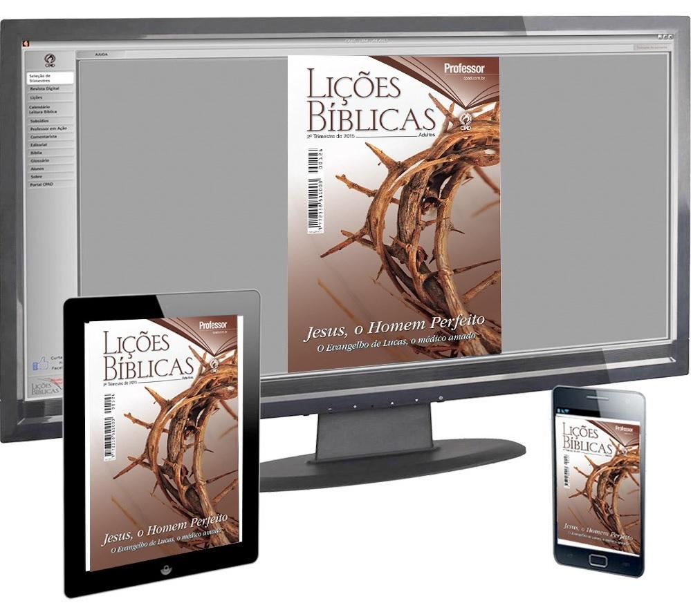 Subsídio para a 1ª Lição – O evangelho segundo Lucas