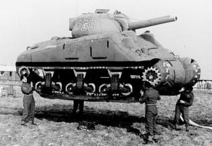 Tanque inflável da 2ª Guerra Mundial