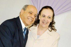 Pr Ubiratan Job e esposa Eliane Job