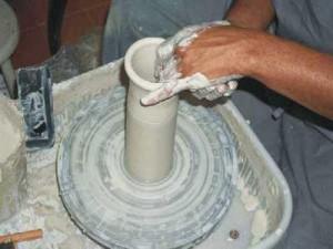 Fazendo o vaso