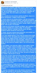 Facebook Pr. Claudionor Correa de Andrade