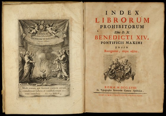 Livros proibidos pela Igreja Católica