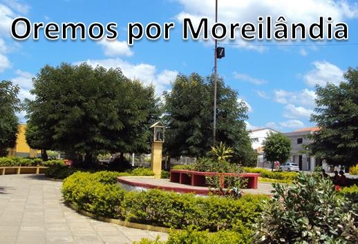 Oremos por Moreilândia/PE