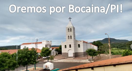 Oremos por Bocaina/PI!