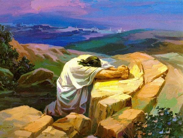 Jesus era um homem de oração?