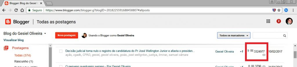 Blog do Dr Gesiel Oliveira
