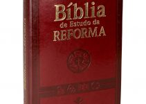 A Bíblia de Estudo da Reforma pode ser sua!