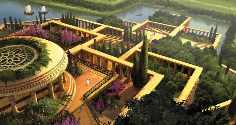 Jardins suspensos do reino de Babilônia