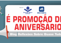 É promoção de aniversário. Doze anos do blog!