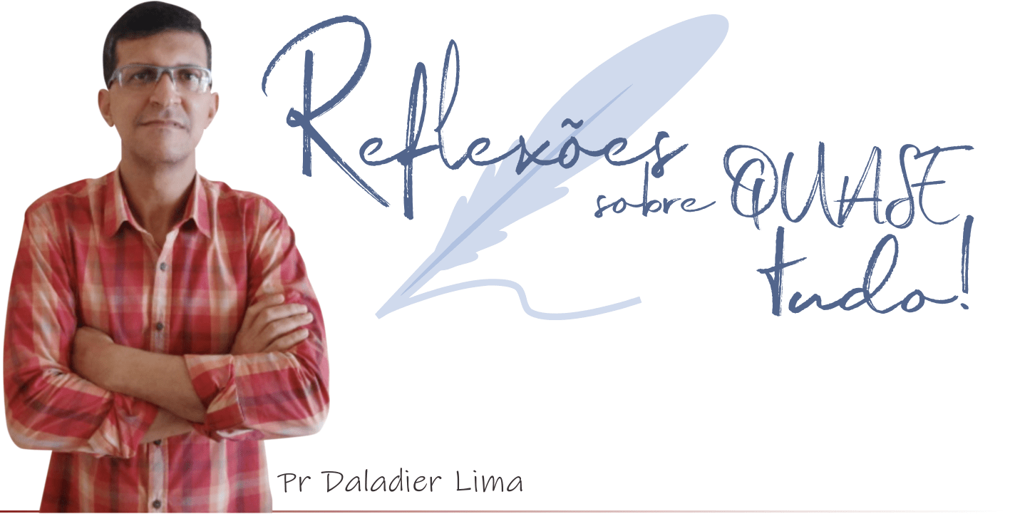 Página Inicial | Reflexões sobre quase tudo!