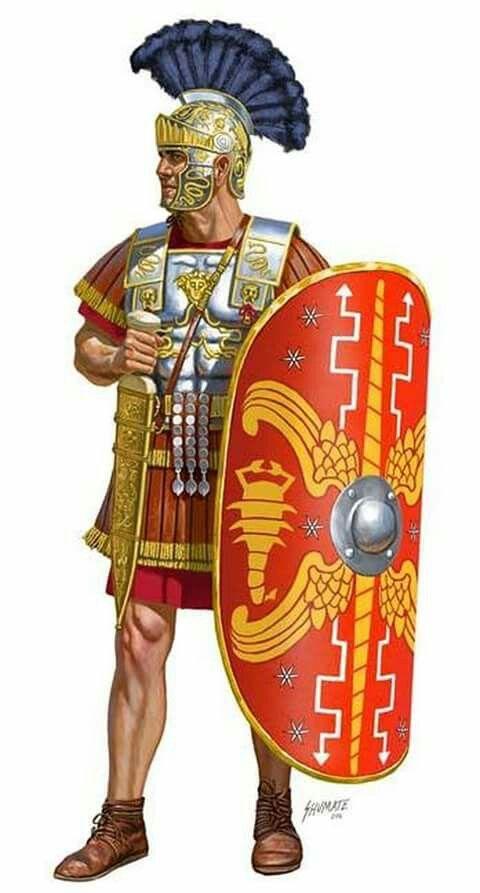 Escudo do centurião romano
